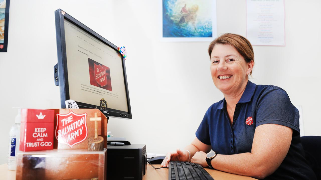 Salvation Army Officer Leanne Elsley from the Banora Point Salvation Army. Photo: Scott Powick