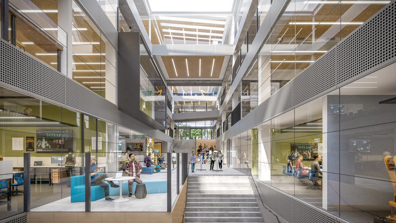Another look at the technology-focused TAFE campus at Meadowbank. Picture: Supplied