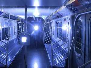 UV lit trains to kill COVID-19