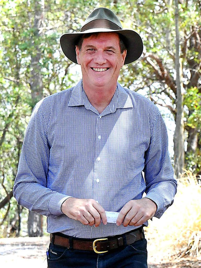 Natural Resources Minister Anthony Lynham. Picture: AAP/John Gass