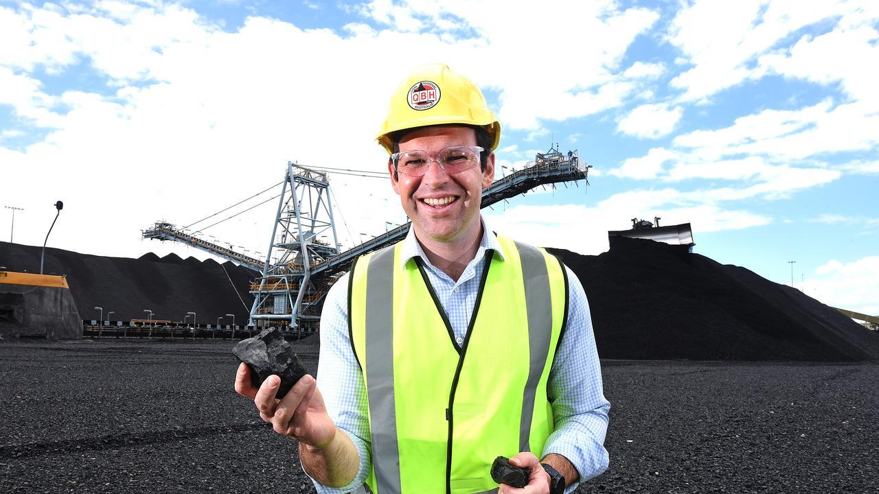 Queensland Senator Matt Canavan is vocal in his support for coal. (AAP image, John Gass)