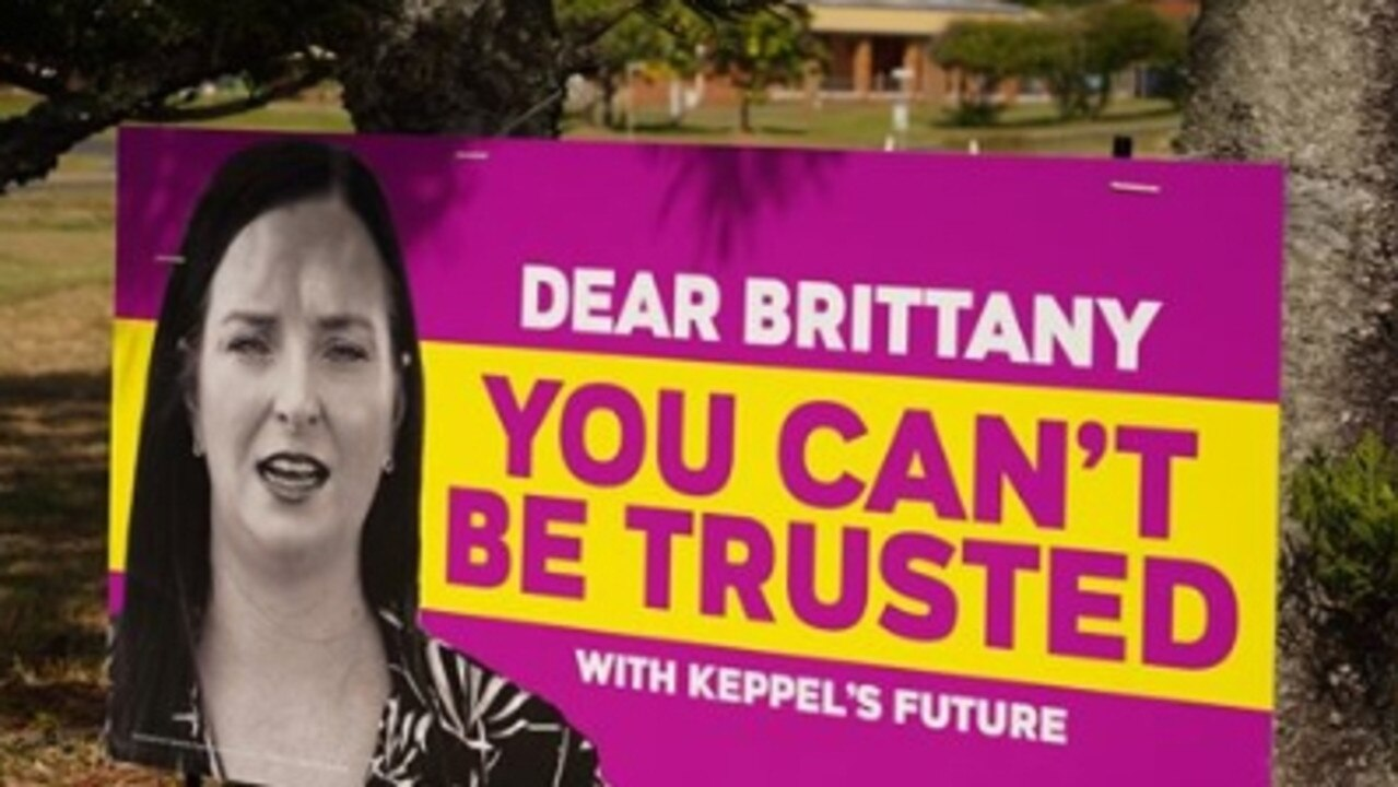 "Member for Keppel Brittany Lauga has responded by saying the people of Keppel would not ""be treated as fools by One Nation"". ""They know how hard I've worked since I was elected to deliver $29 million for the new Yeppoon lagoon, an extra 93 doctors and 192 extra nurses in our hospitals and a brand new $14.3 million detox and rehab centre for CQ with construction starting soon."""