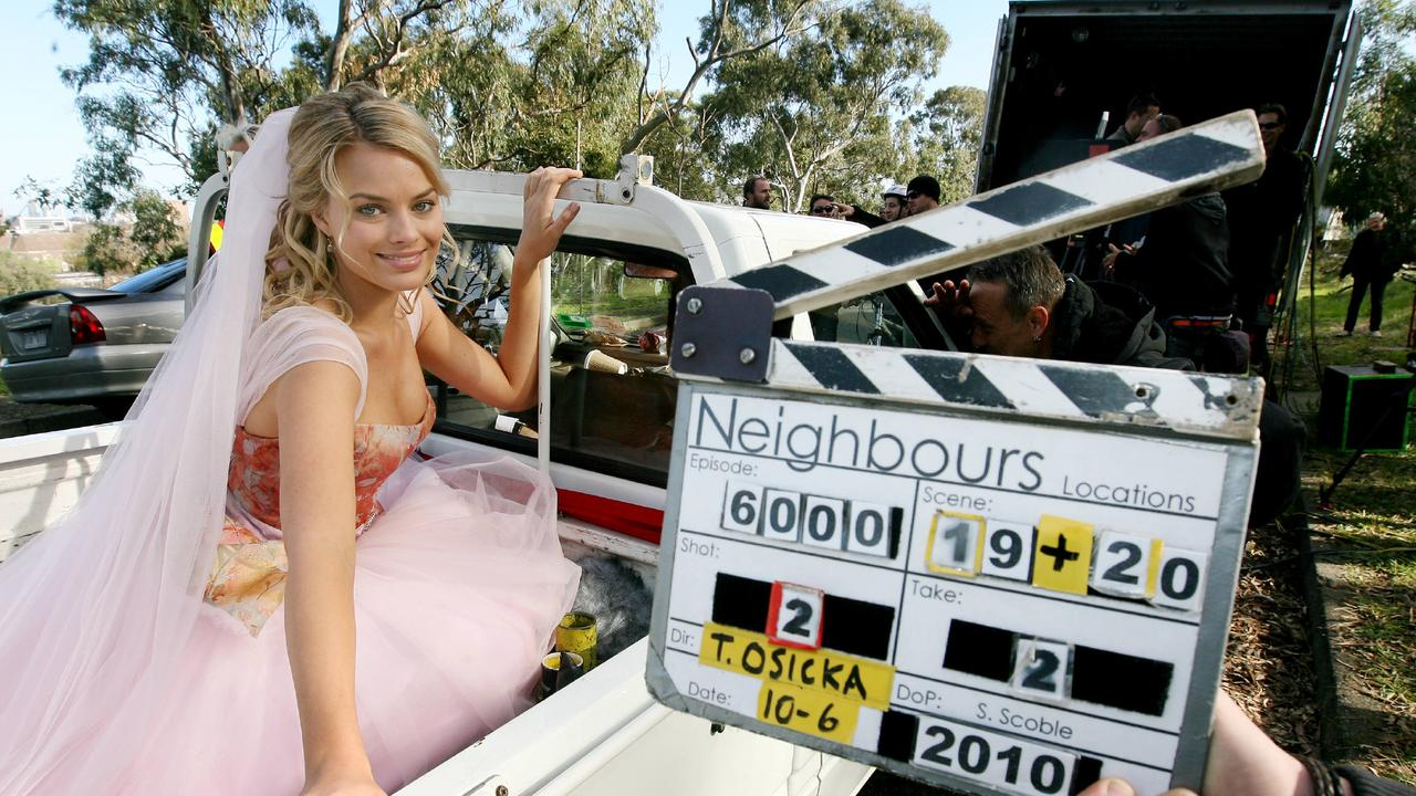 Margot Robbie on Neighbours.