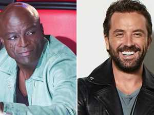 The Voice host details clash with Seal