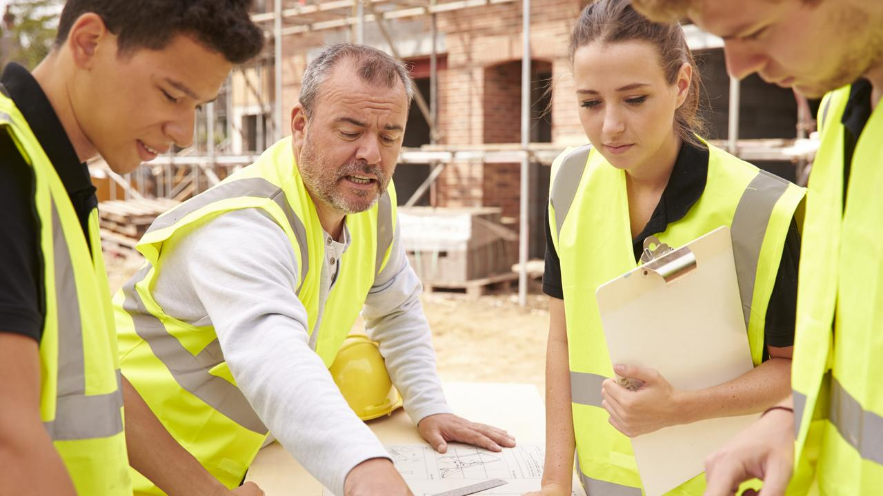 Increasing trade apprentices is vital to rebuilding our post-Covid economy. Picture: iStock