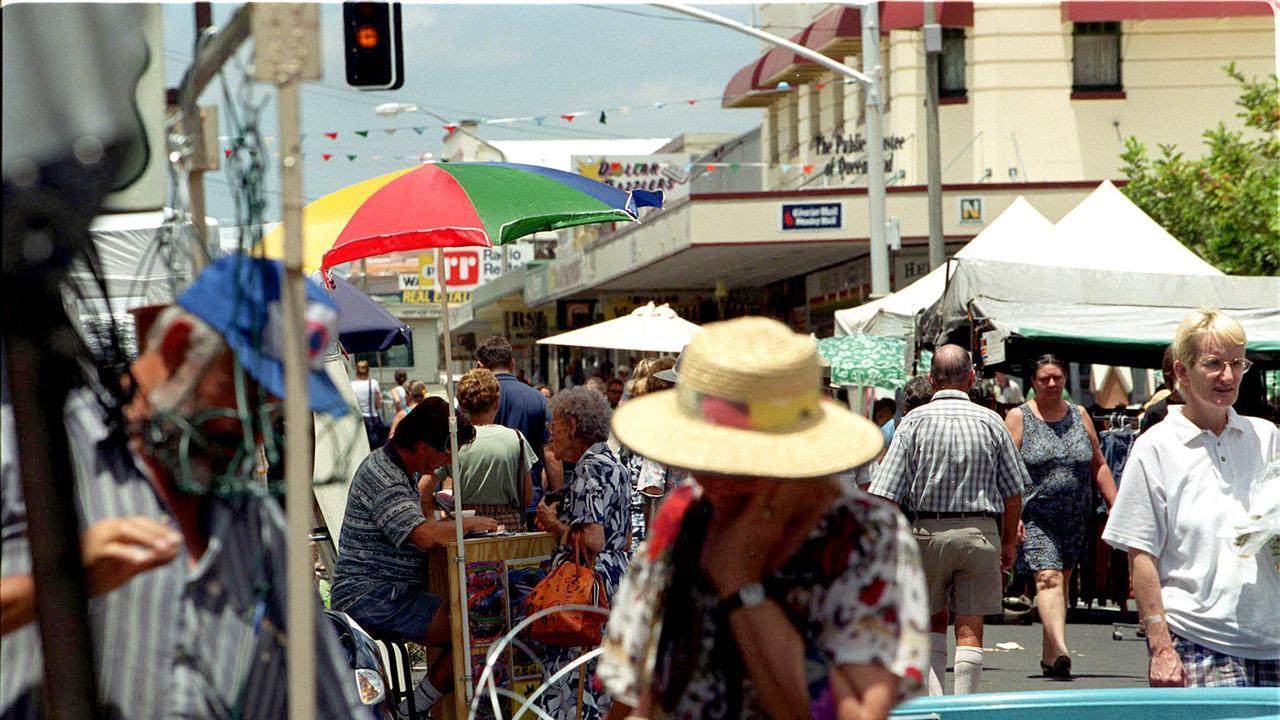Maryborough's iconic Thursday markets. Photo: File