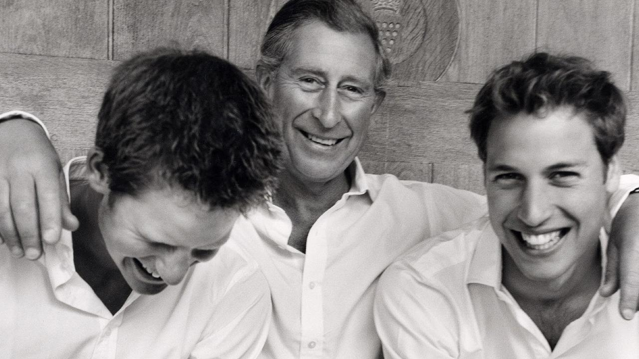 Harry's relationship with William and his father Charles appears to not be what it once was. Picture: Supplied