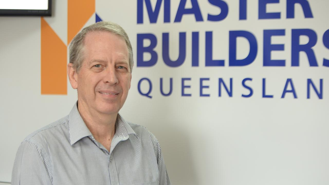 Master Builders Mackay Whitsunday regional manager Malcolm Hull.