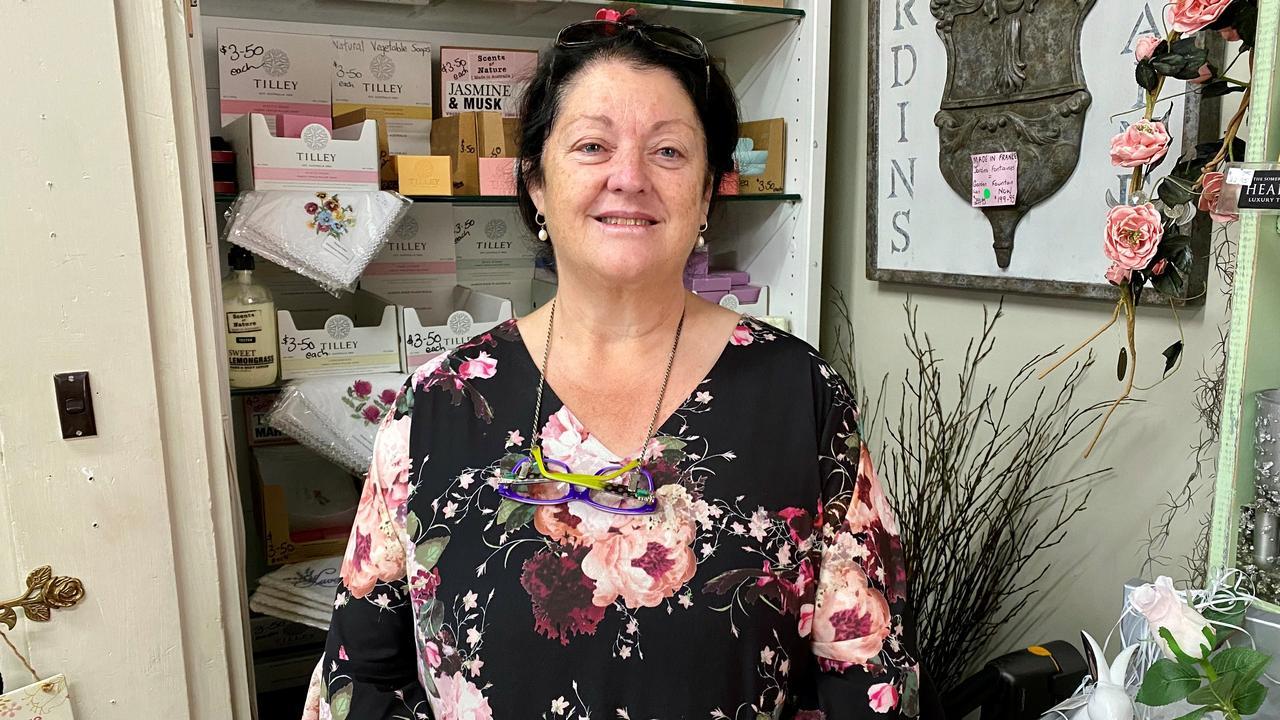 Gracious Giving owner Debbie Wilmot.