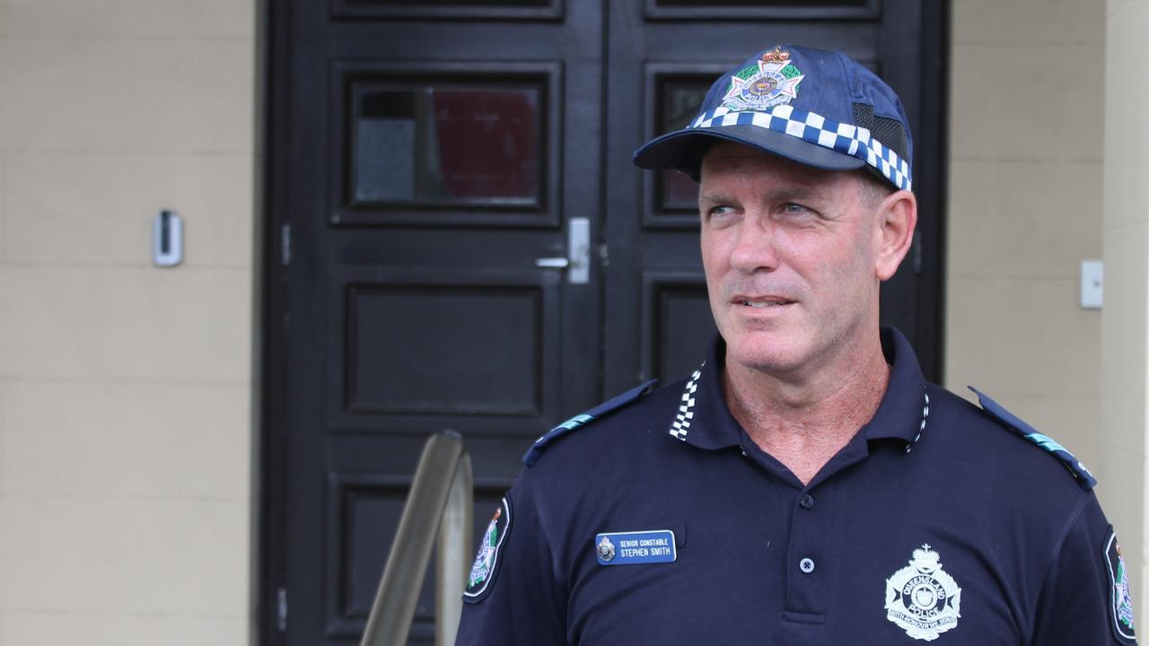 Mackay District Crime Prevention Senior Constable Steve Smith. Photo: Luke Mortimer