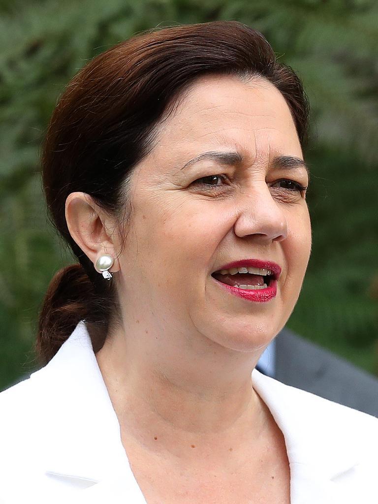 Premier Annastacia Palaszczuk, Speaker's Green, Parliament House Brisbane. Photographer: Liam Kidston