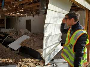 Tornado or not? Experts probe trail of destruction