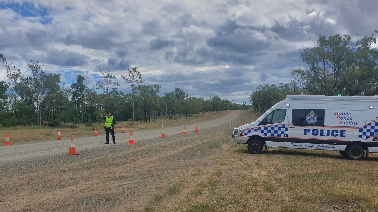Police roadblock set up at Chillagoe with travel into Cape York restricted to