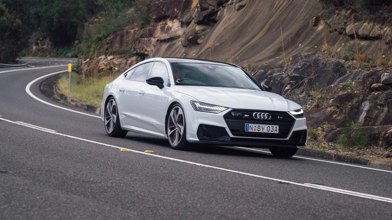 The Audi S7 adds a little more style for a higher price.