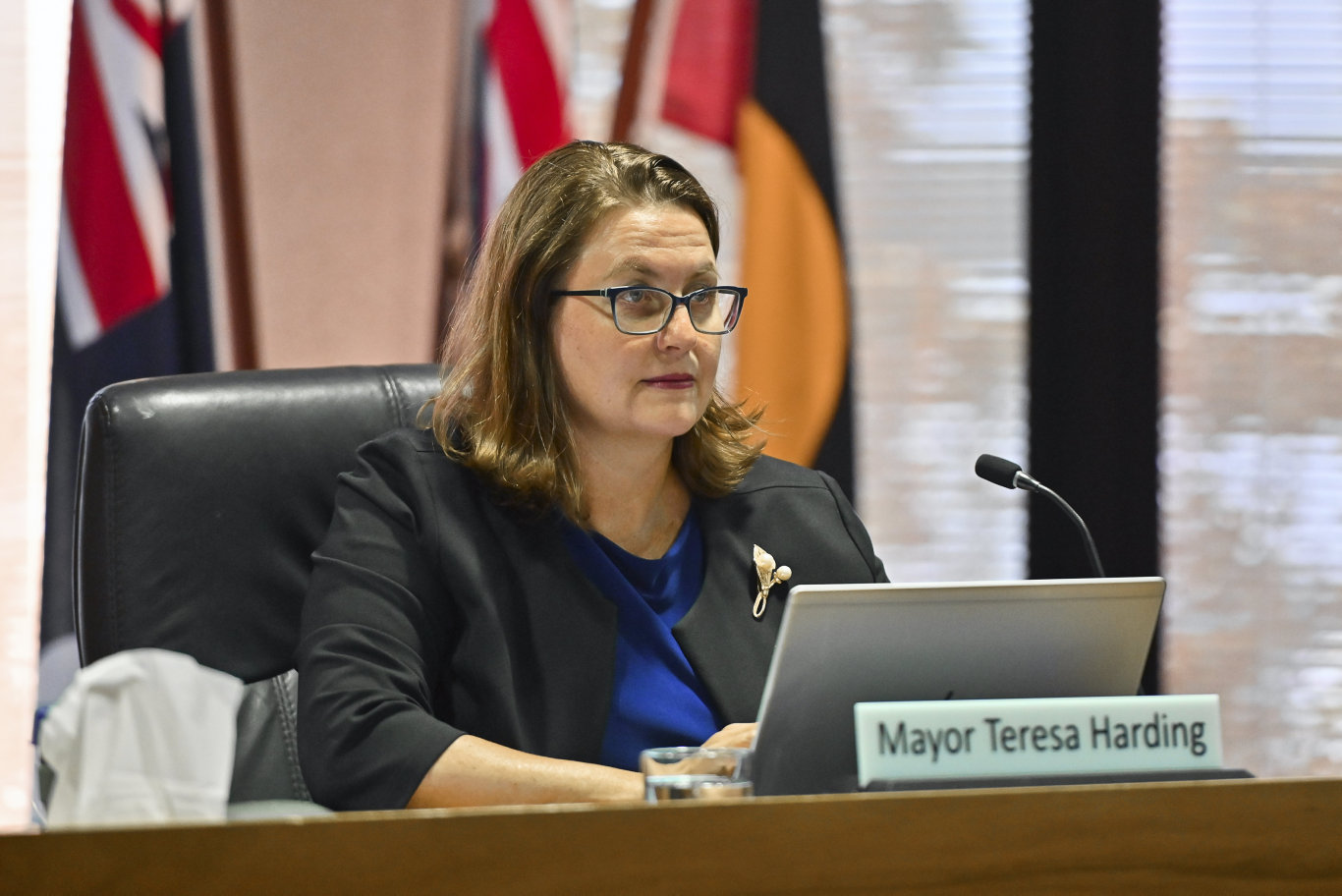 First Ipswich City Council meeting of 2020. Mayor Teresa Harding. Picture: Cordell Richardson