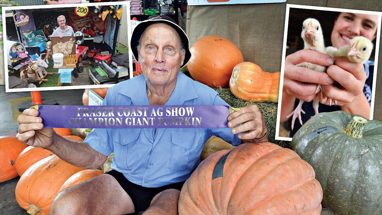 The Fraser Coast show might be cancelled but the people behind it are still proud of their produce and products.