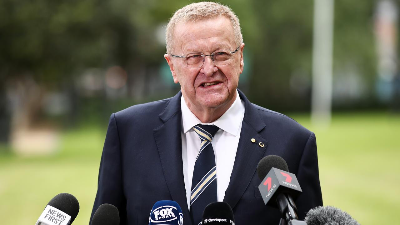 John Coates holds grave fears for the Tokyo Olympics.
