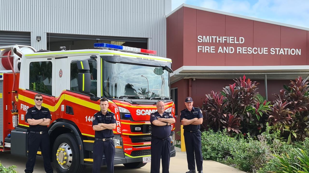Smithfield Crew and new Scania