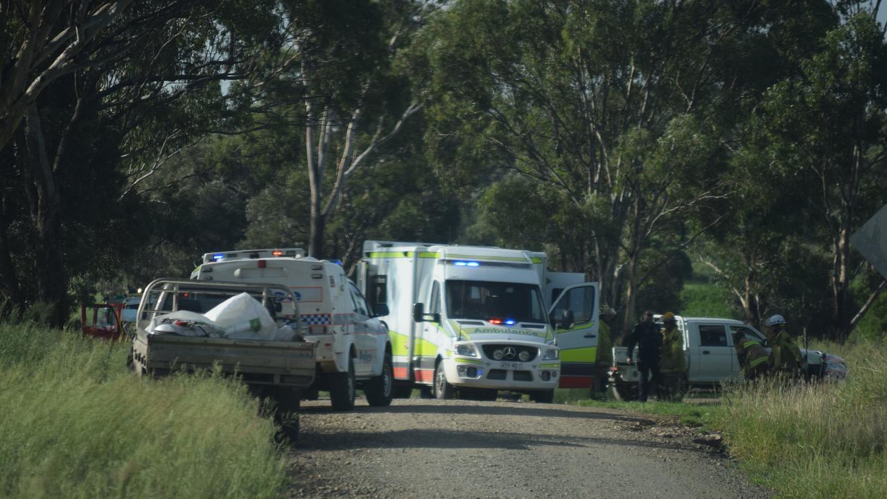 The single vehicle crash 10kms south of Biloela.