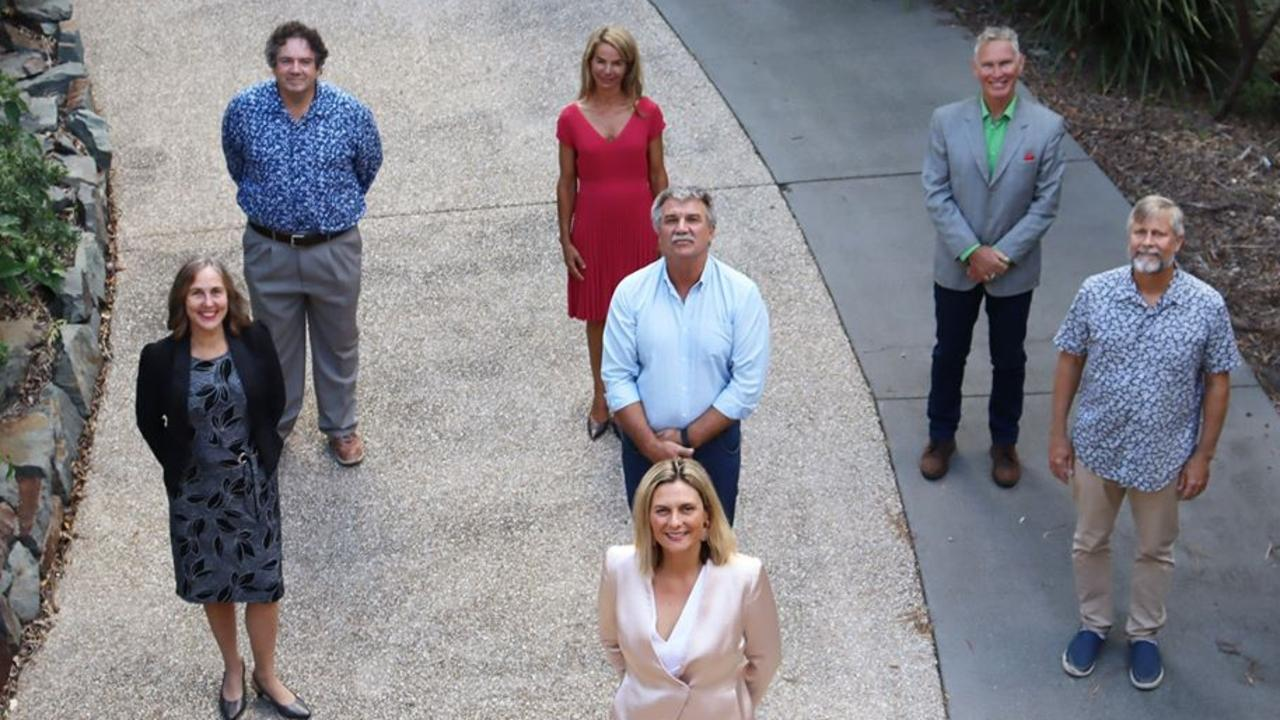 The new-look Noosa Council team, but who got the most votes in your neck of the woods?