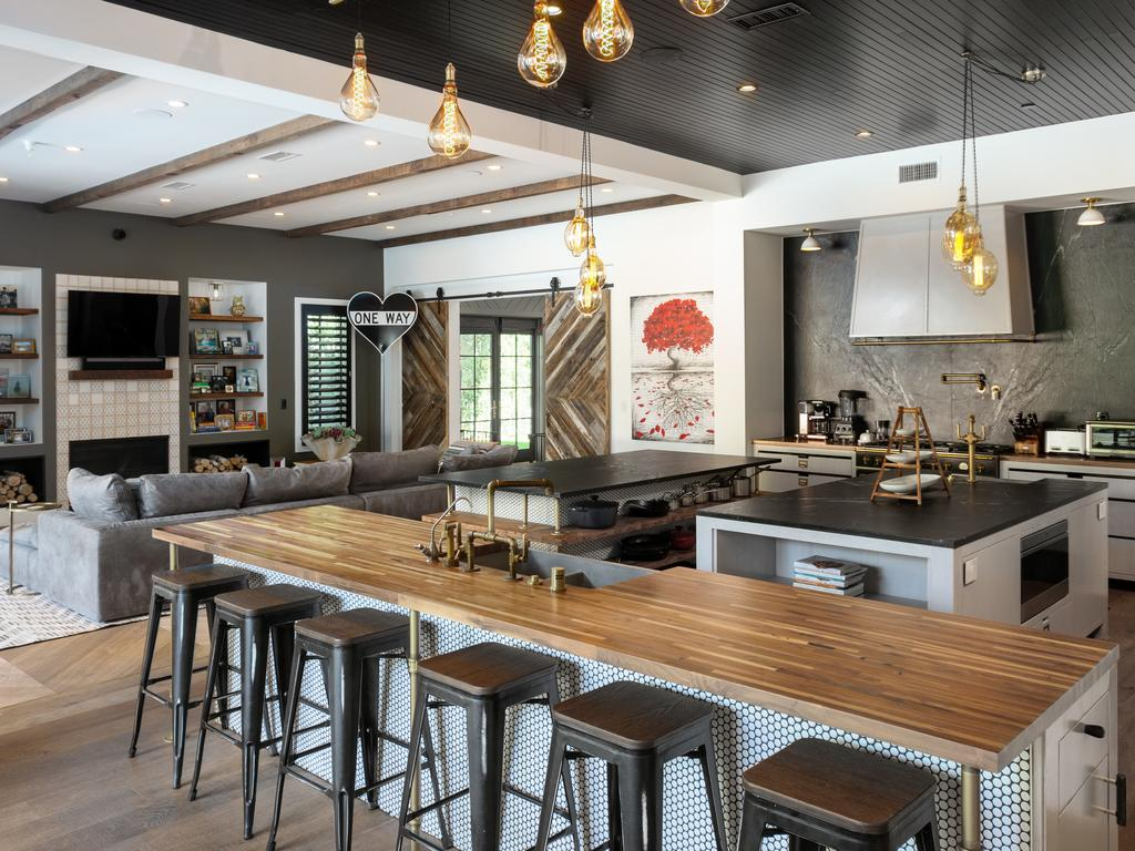 What a kitchen. Picture: Cameron Carothers for Compass
