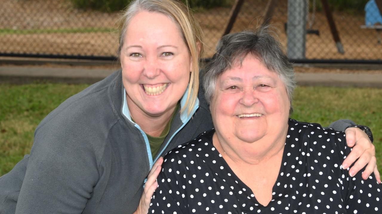 Nicole and Judi Wattz at Lake Alford - Picture: Shane Zahner