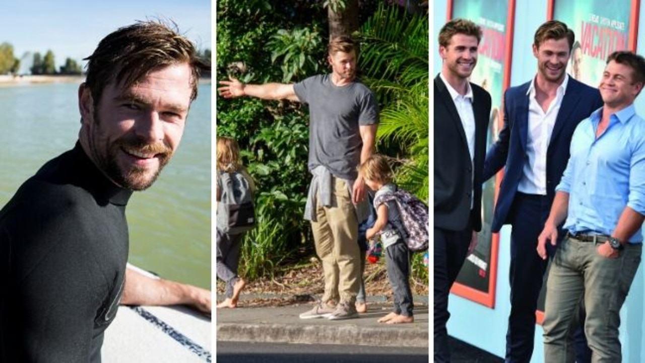 They are the superstar brothers, who have made a northern NSW area into a tourism hot spot. Chris, Liam and Luke Hemsworth have now all moved to Byron Bay - here is a glimpse into their new life by the beach. SEE THE PHOTOS.