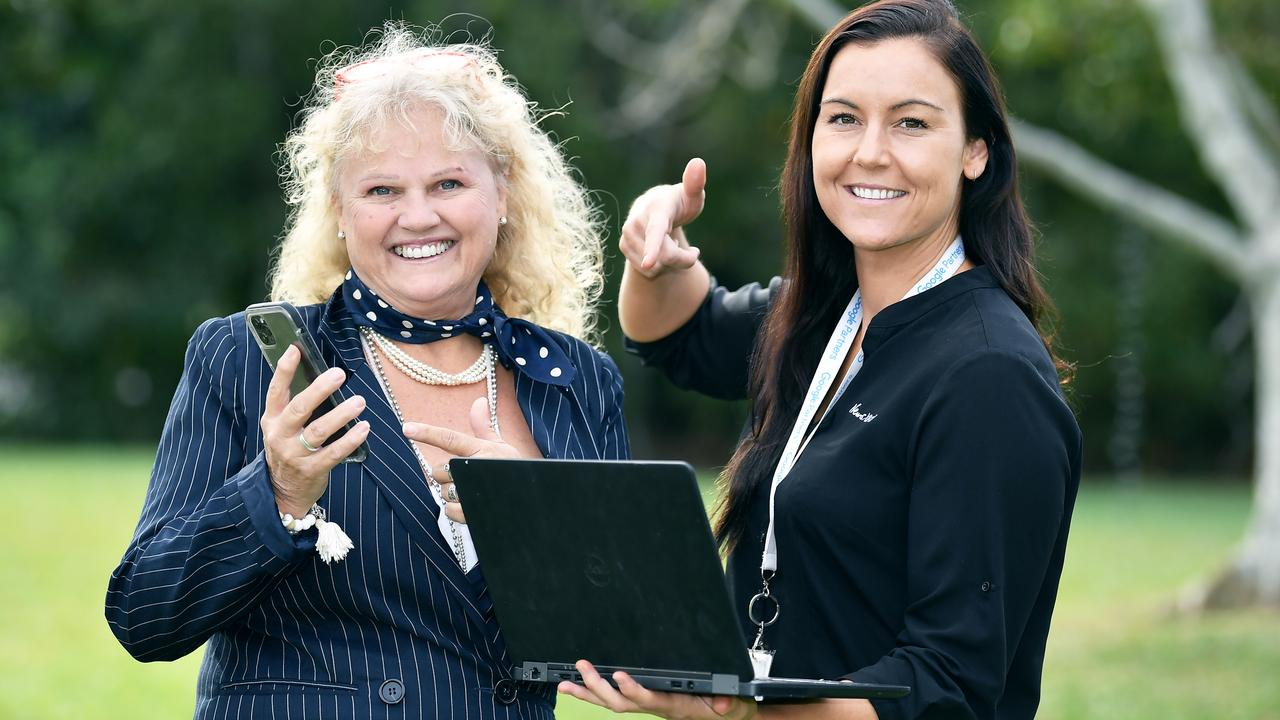 NEWS XTEND: Cruise Maroochy co-owner Kate Poynton and advertising manager Sally Waghorn are working together to help the business with marketing. Photo: Patrick Woods