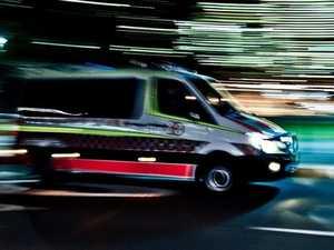 Man hospitalised after single vehicle accident