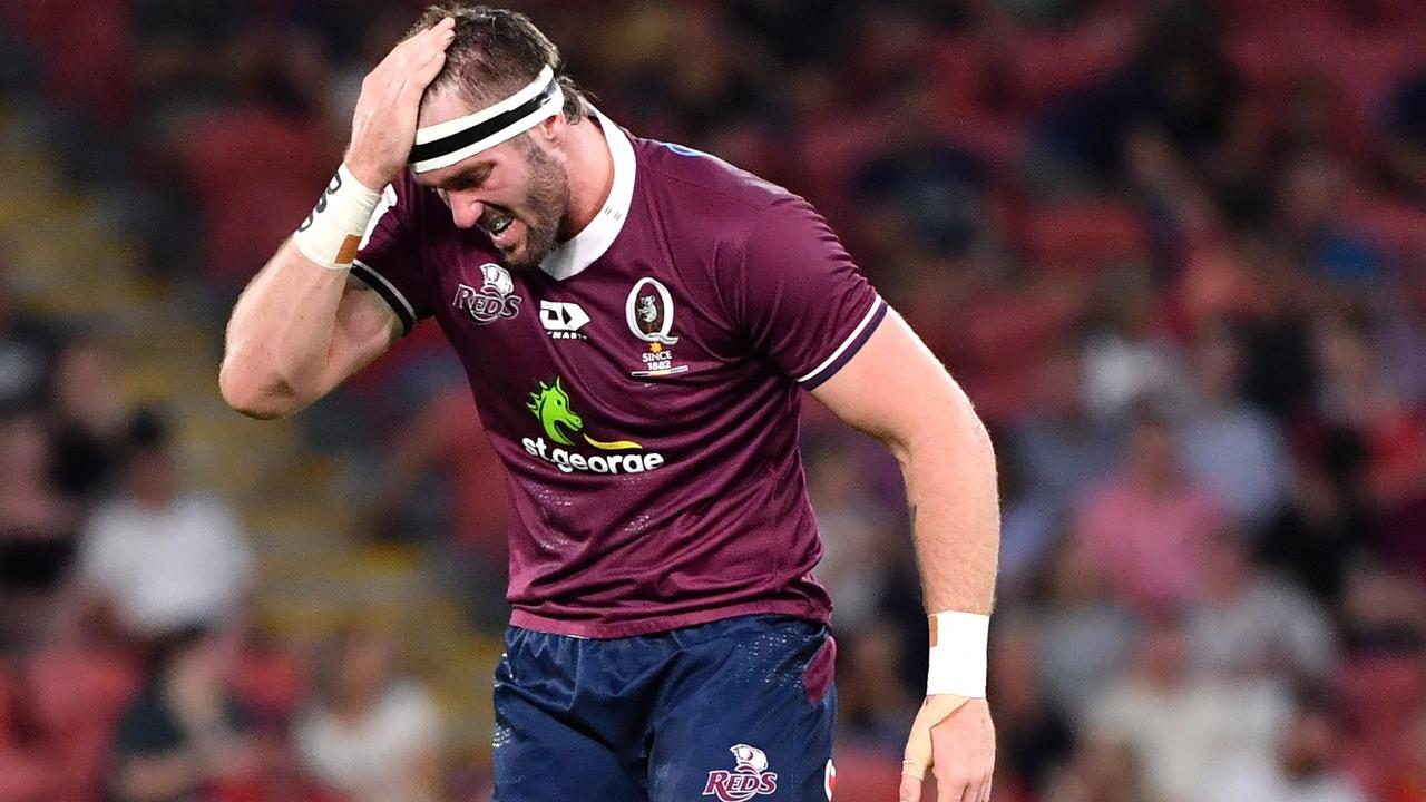 MOVING ON: Izack Rodda looks set to have played his last game at the Queensland Reds after a pay dispute with the club. Photo Darren England.