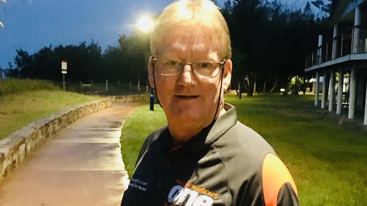 59-year-old Curtis Island warehouse officer Kevin Jorgensen is the One Nation candidate for the seat of Gladstone in the 2020 Queensland election.