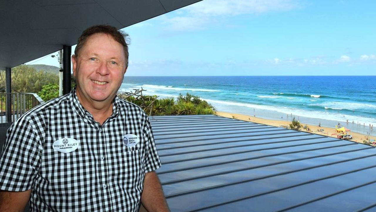 Tim Johnson is looking forward to putting smiles on the faces of patrons at Sunshine Beach SLSC.