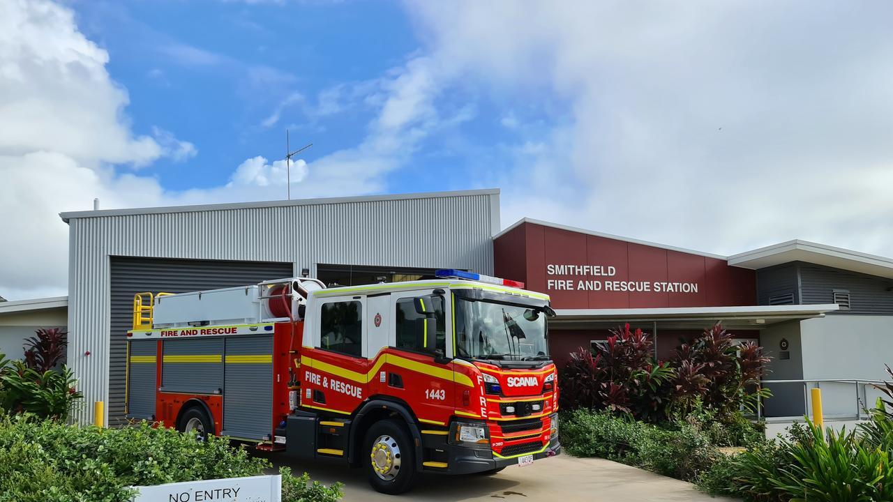 New Scania fire appliance for Smithfield.