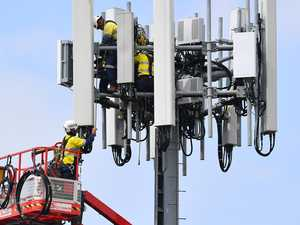 Cell tower switches on to improve signal in Mackay
