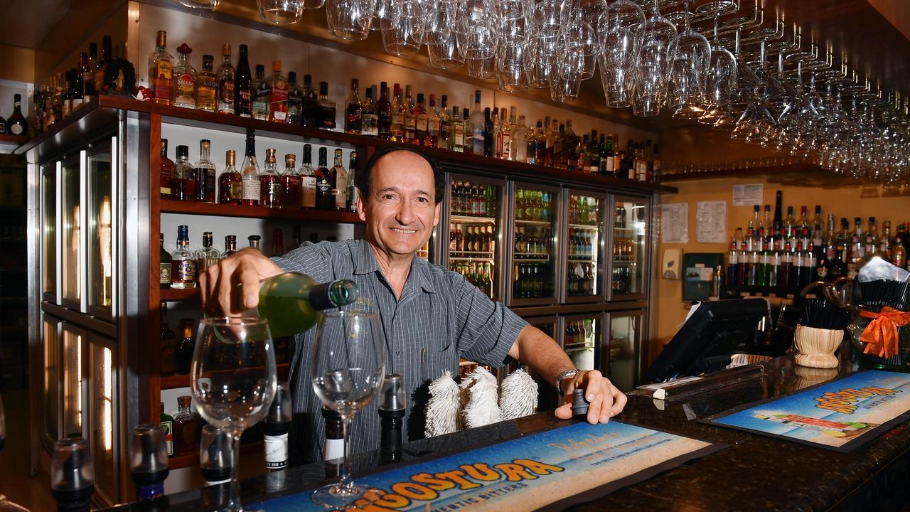 Alex Sorbello from Sorbello's Italian Restaurant. Picture: Tony Martin