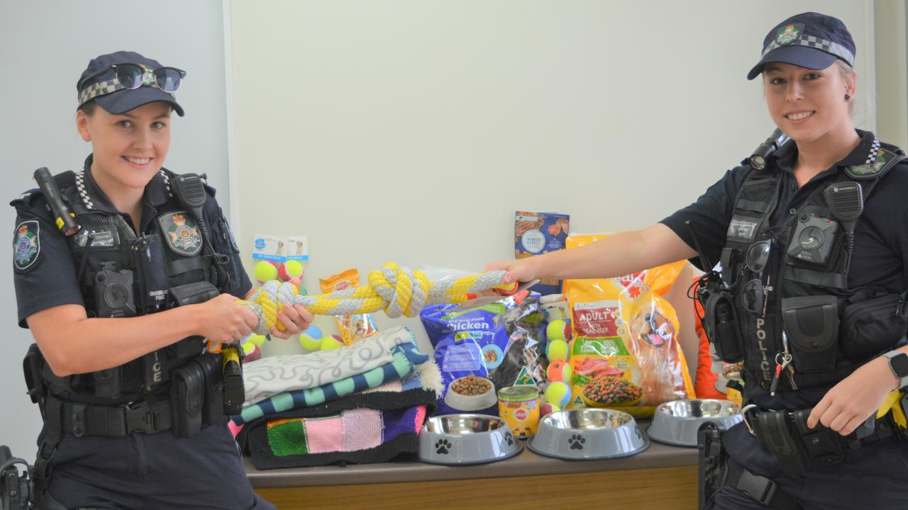 Constable Kimberly Allen (right) with Constable Shannon Barry. Photo: Ebony Graveur