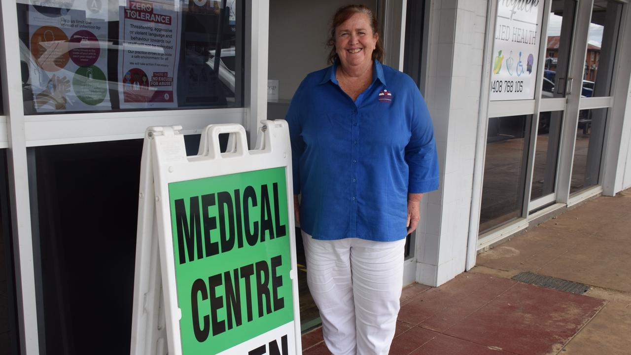 BULK BILLING: Sandra Corfield manages the new Kingaroy Medical Centre. Photo: Madeline Grace