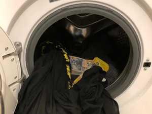 Thousands of dollars 'found in washing machine'