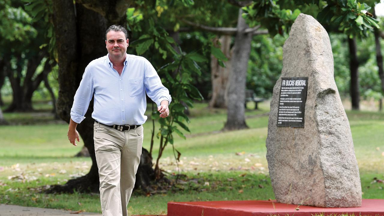 Whitsunday MP Jason Costigan at Seaview Park in Bucasia. Picture: Tony Martin