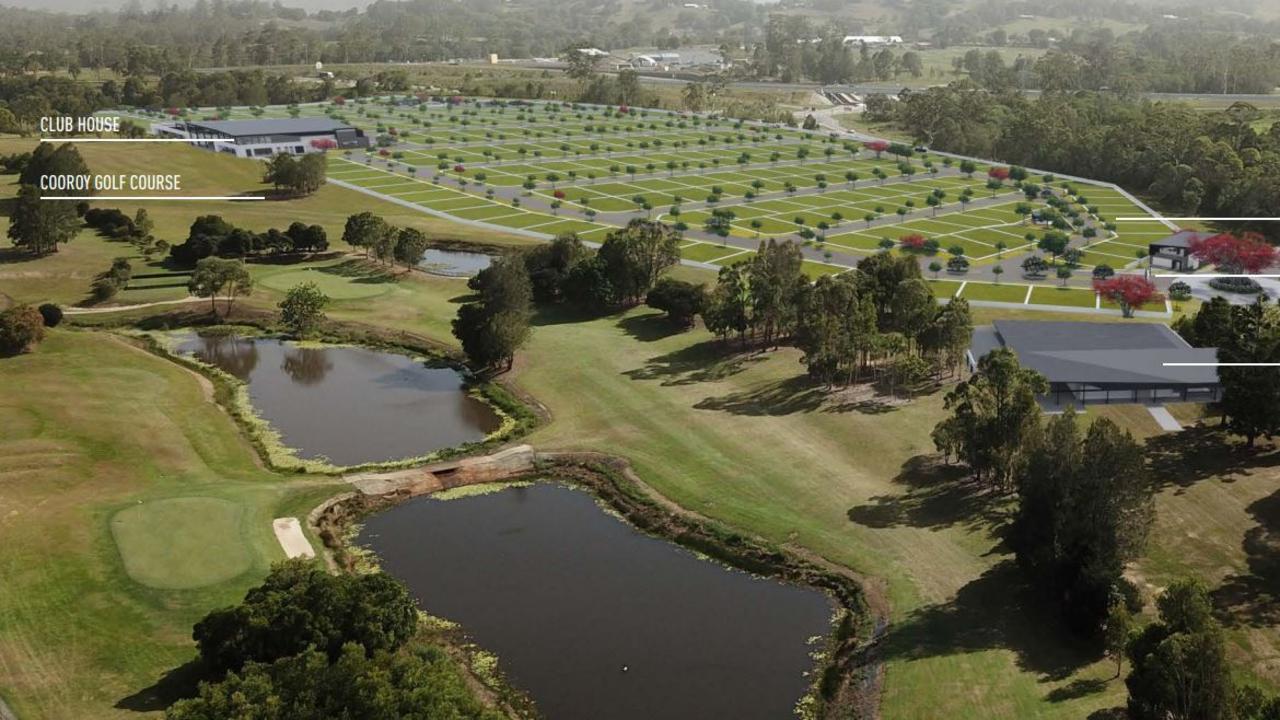 246-unit GemLife development proposed next to Cooroy Golf Club.