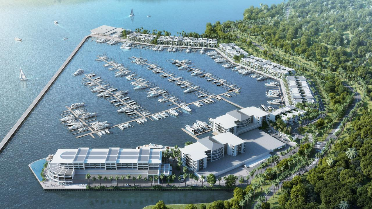 Shute Harbour Marina Resort artist's impression 1