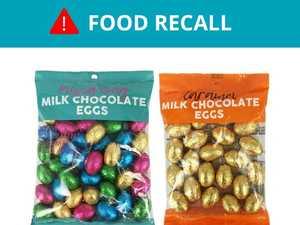 Urgent recall: Kmart pulls chocolate from shelves