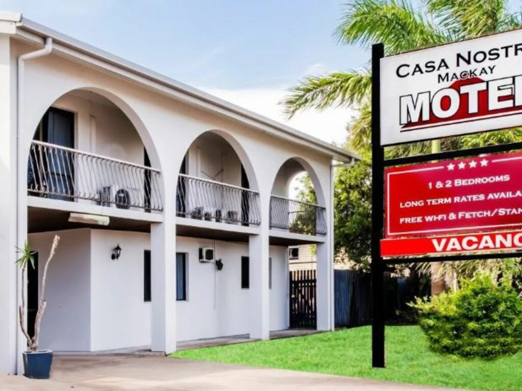 Casa Nostra Motel is for sale.