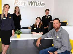 BRIGHT FUTURE: Optimism clear for Ray White principal