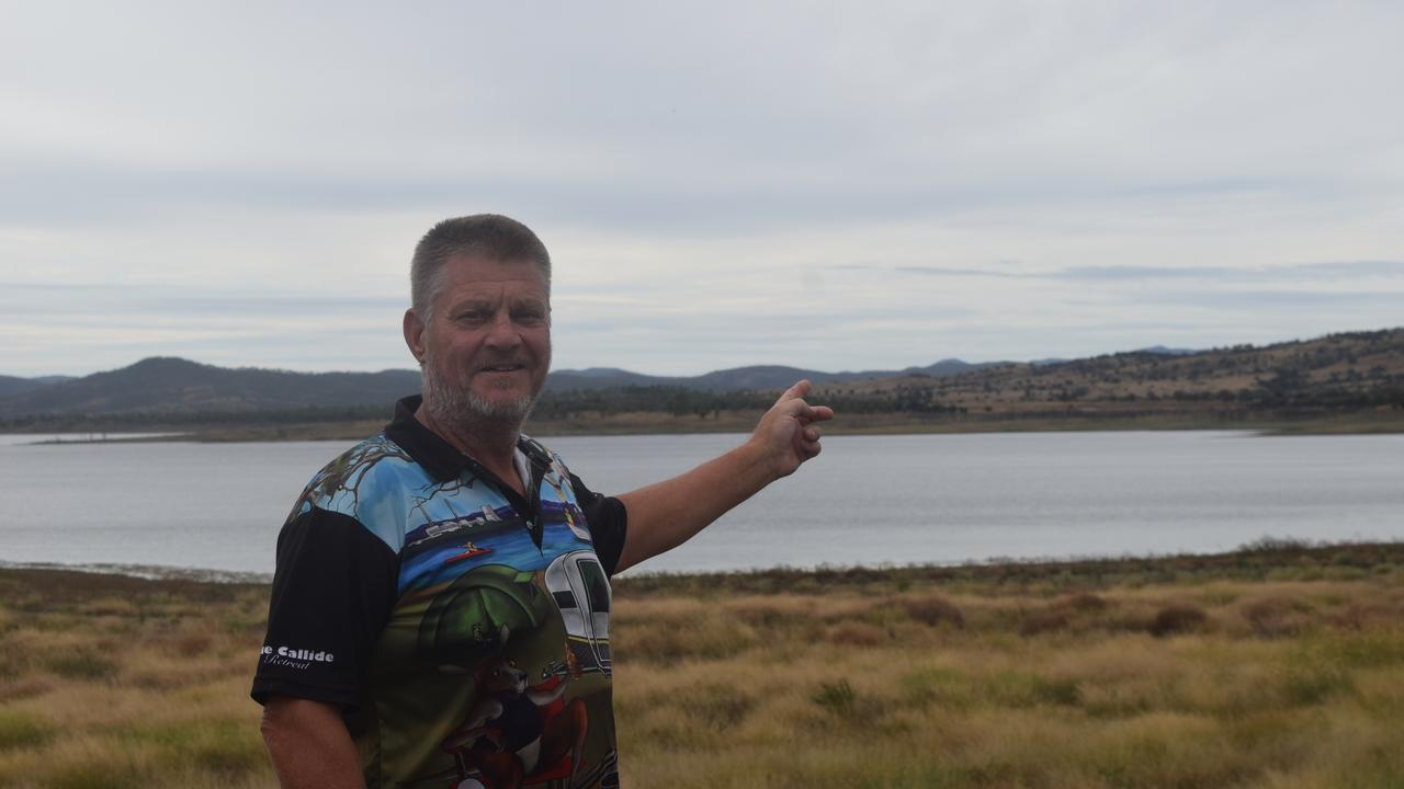 MONEY MAKER: Steve Laughton from the Lake Callide Retreat is excited to reopen next week to local and outback travellers.