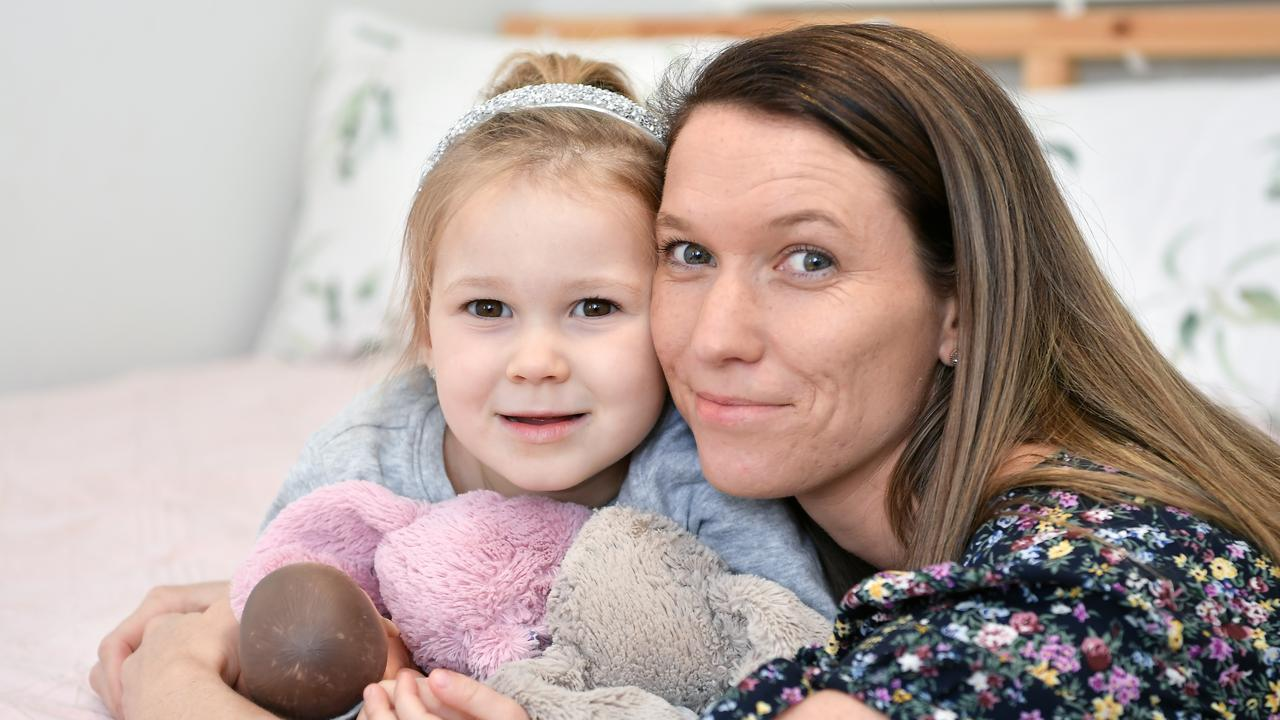 AWARENESS: Alicia Preston's daughter Poppy Millican, 4 was diagnosed with eczema when she was 11-weeks-old. Picture: Photo Patrick Woods.