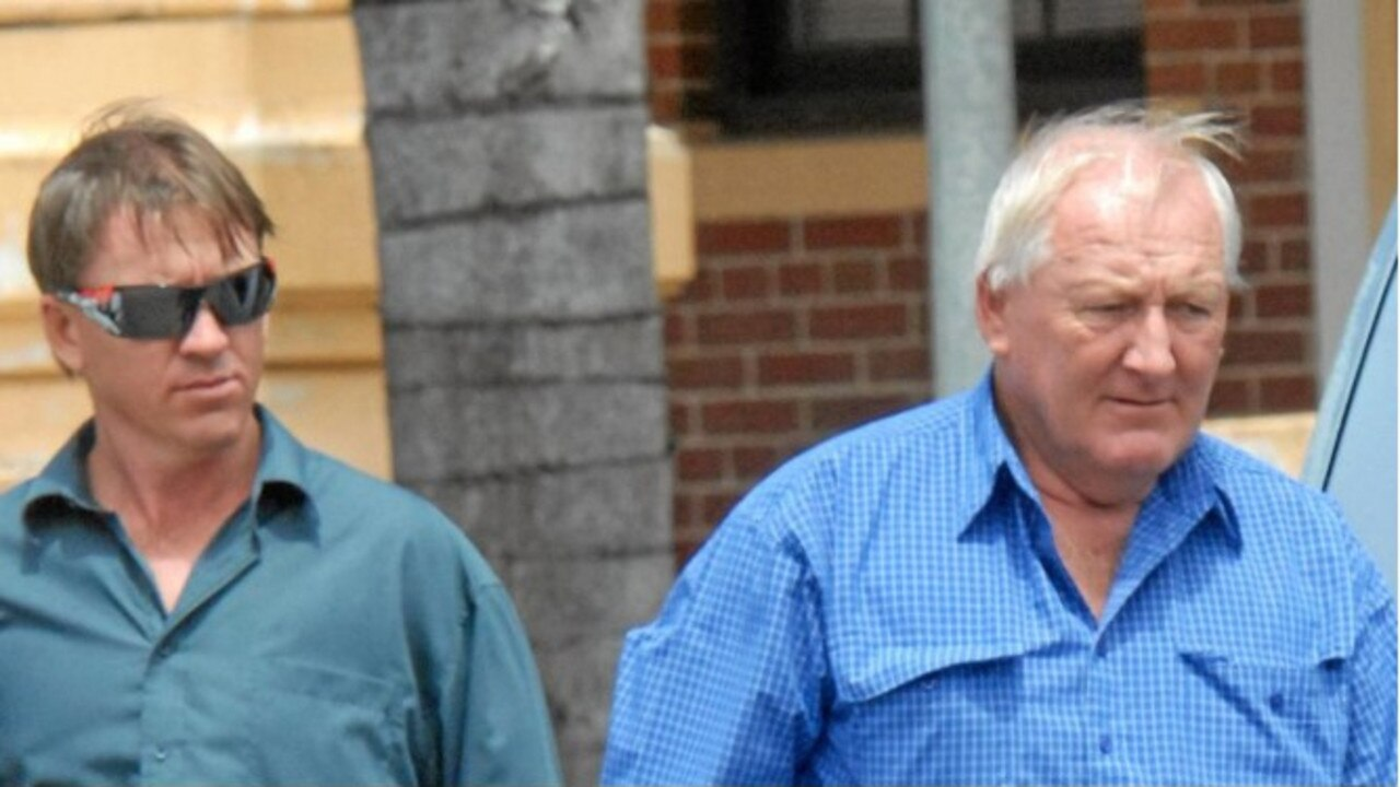 Anthony Howard Lindsay (left) and Howard Kerry Lindsay were jailed in 2013 over a multimillion-dollar marijuana crop at Calen. Photo Credit: Peter Holt