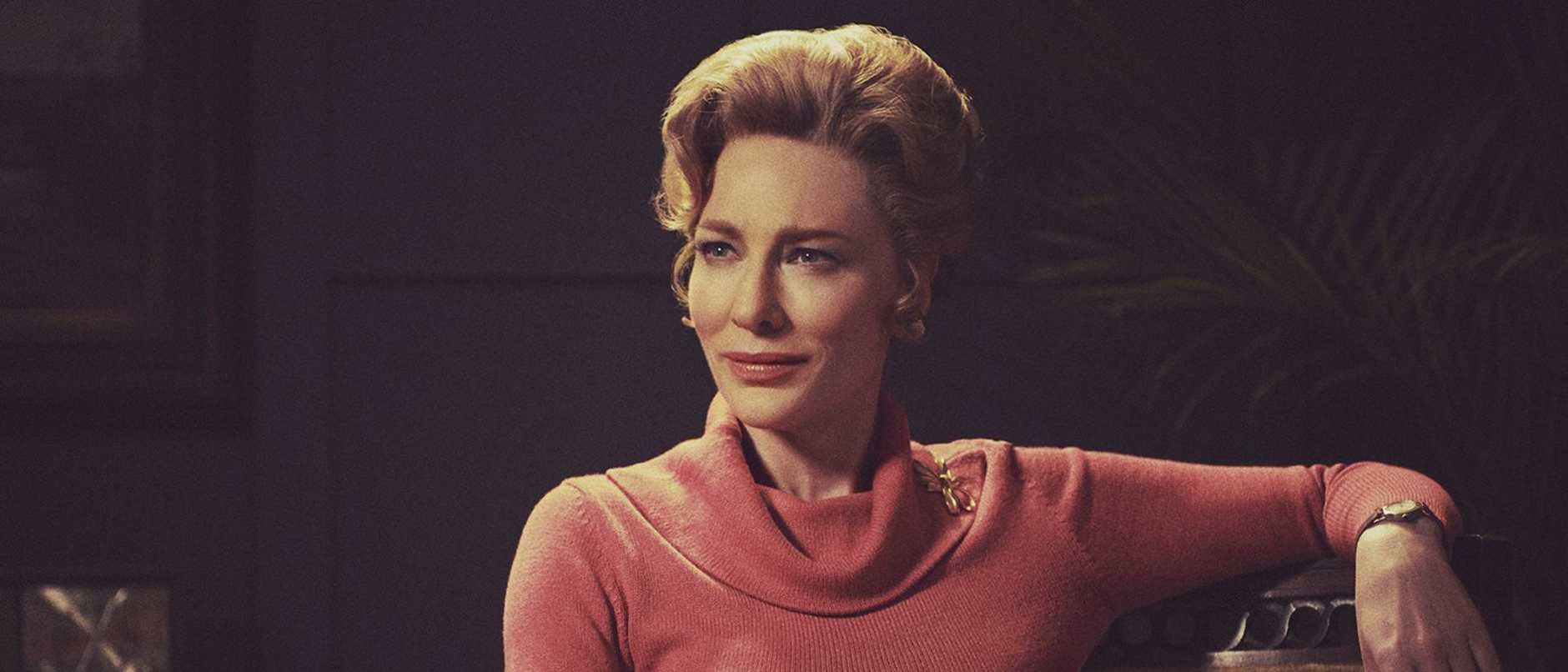 Womens' rights … Cate Blanchett as Phyllis Schlafly in biographical drama, Mrs America, to stream on Binge. Picture: Sabrina Lantos/FX