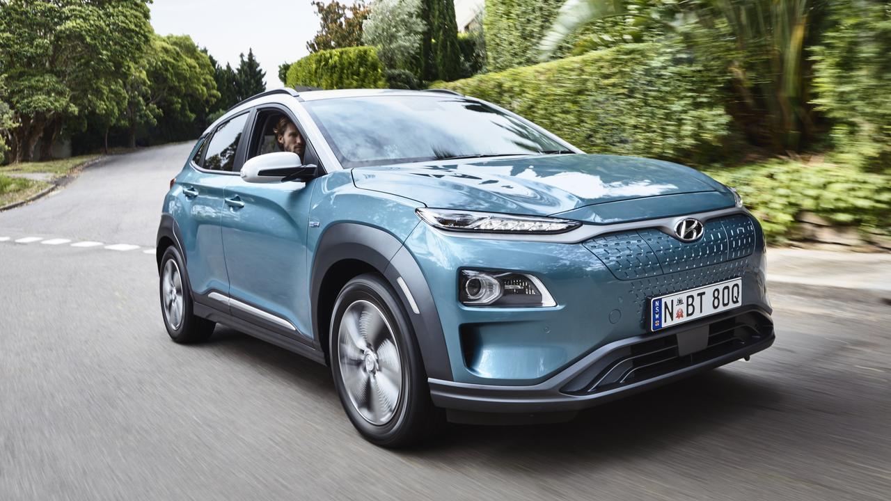 Hyundai's range-topping Kona EV.