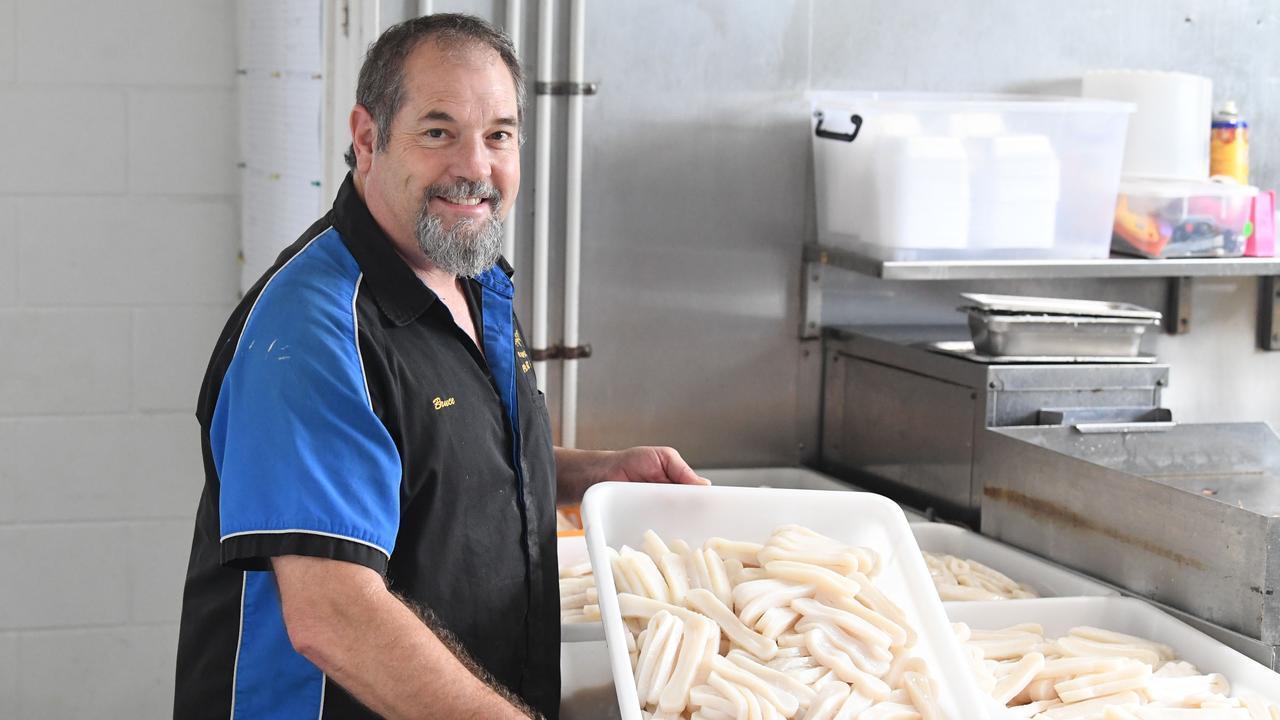 Bruce Pearce, owner of Fisherman's Haul.